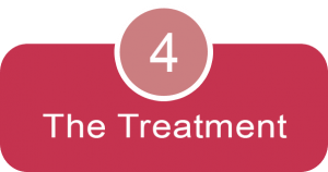 The treatment – our specialists will take care of your new smile!