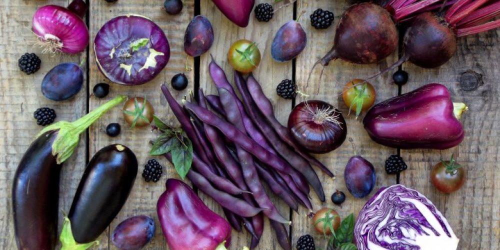 Health benefits of purple foods